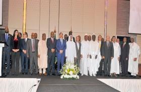 نهيان بن مبارك يحضر الاحتفال بـ « يوم أفريقيا الـ 56 »