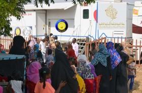 «حملة الشيخة فاطمة الانسانية» تكثف مهامها في أفريقيا خلال رمضان