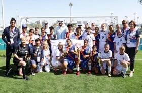الرميثي يشهد عددا من منافسات الأولمبياد الخاص «أبوظبي 2019»