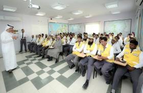 23 سائقا من مواصلات الإمارات يشاركون في برنامج توعية نظمته شرطة أبو ظبي