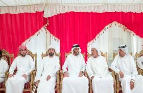 نهيان بن زايد يقدم واجب العزاء في وفاة لاعبة فريق الإمارات للأولمبياد الخاص شيخة النقبي
