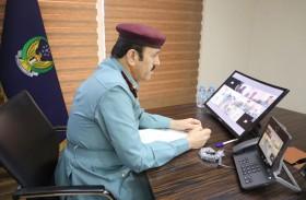 قائد عام شرطة الفجيرة يترأس اجتماع اللجنة العليا الدائمة