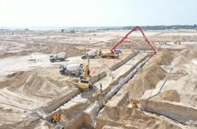 بلدية مدينة أبوظبي تبدأ تنفيذ مشروع الطرق والبنية التحتية  في منطقة الصدر