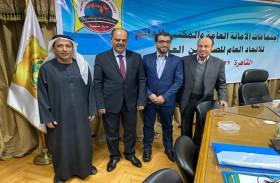 وفد جمعية الصحفيين الإماراتية يشارك في اجتماع الأمانة العامة وحريات اتحاد الصحفيين العرب بالقاهرة