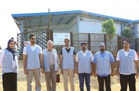 الشارقة للإعلام  تدشن مستشفى دائماً لعلاج 140 ألفا من لاجئي الروهينغا في بنغلاديش