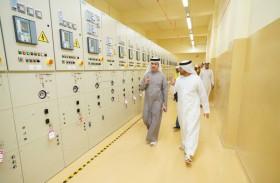 الطاير يتفقد سير الأعمال في المرحلة الثالثة من مجمع محمد بن راشد للطاقة الشمسية