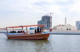 46596 راكباً استخدموا النقل البحري خلال النصف الأول من عام 2019 في عجمان