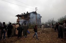 القوات الهندية تقتل  قياديا متشددا في كشمير