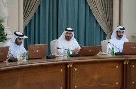 عبدالله بن سالم القاسمي يترأس اجتماع المجلس التنفيذي