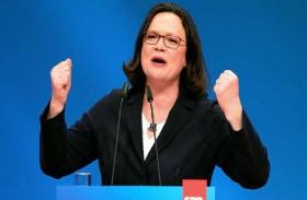 ناليس تترأس الحزب الاشتراكي الألماني