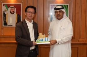 وفد صيني يطلع على تجربة جمارك دبي بمجال الابتكار