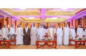 حاكم عجمان يشهد حفل تخريج الدفعة الثالثة من الكلية الجامعية للأم والعلوم الأسرية