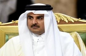 أمير قطر يحذر من المساس بقطر ويستنكر ربطها بالإرهاب
