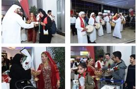 مطار أبوظبي الدولي يحتفي باليوم الوطني البحريني الـ 46