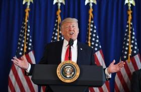 تظاهرات تندد بموقف ترامب من حوادث شارلوتسفيل