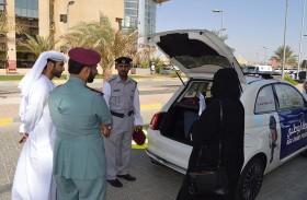 وفد من شرطة دبي يطلع على مشروع دورية الأطفال بمرور العين