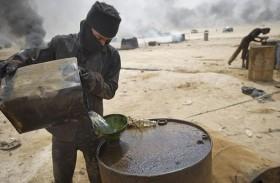 عائدات النفط لداعش بالملايين رغم انحسار أراضيه