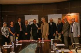 """جامعة عجمان تستقبل وفدا رسميا من جامعة """"جينا"""" الألمانية"""