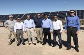 وفد من شركة العين للتوزيع يطلع على أفضل الممارسات في مجال الطاقة في أمريكا