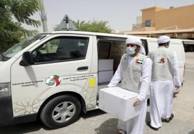 أكثر من 395 ألف مستفيد من حملة خليفة الإنسانية بالتعاون مع الوطني للمسؤولية المجتمعية ضد كوفيد - 19