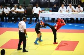 افتتاح معسكر أكاديمية تايتن الرياضية في أبو ظبي بصالة اتحاد الإمارات للمصارعة والجودو