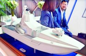 جديد الصناعة الصينية.. سفن روبوتية فتاكة