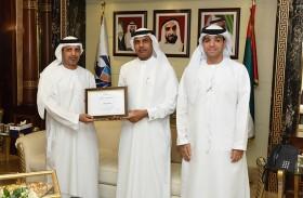 جمارك دبي تفوز بجائزة التميز في التصميم المؤسسي من «ذا أوبن جروب» العالمية