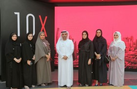 نادي المبدعين بمحاكم دبي ينظم ورشة عمل ورحلة لمنصة X10 لمتابعة التغيرات التي يشهدها العالم