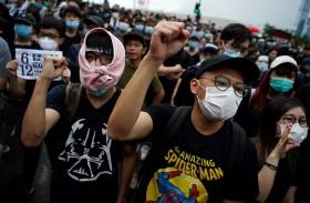 استجواب رئيس أمن هونغ كونغ على خلفية العنف