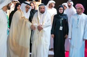 سلطان القاسمي يشهد انطلاق ملتقى الشارقة الدولي للراوي