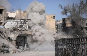 روسيا تتهم أمريكا بقصف «همجي» للرقة