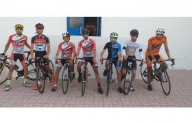 تدريبات مكثفة لمنتخب الدراجات في معسكر مدريد بإسبانيا