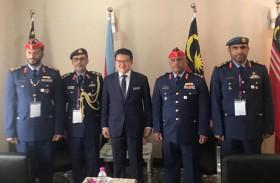 وفد من وزارة الدفاع والقوات المسلحة يزور « معرض ليما 2019 »