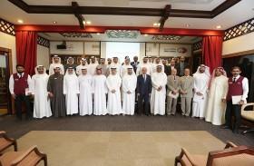 إدارة التنفيذ في محاكم دبي تكرم موظفي الإدارة لجهودهم المتميزة في عام 2017