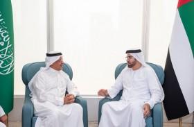 اجتماع رئيسي اللجنة التنفيذية لمجلس التنسيق السعودي الإماراتي