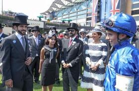محمد بن راشد يشيد بإنجازات خيول الإمارات في مهرجان رويال اسكوت في بريطانيا