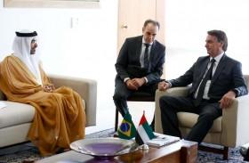 سفير الدولة يقدم أوراق اعتماده إلى رئيس البرازيل