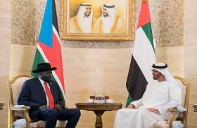 محمد بن زايد يؤكد اهتمام الإمارات بتنويع قاعدة علاقاتها وتوسيعها مع جميع الدول الصديقة
