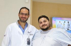 نجاح عملية جراحية لاستئصال جزئي لمعدة مريض وزنه 210 كجم