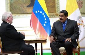 رئيس فنزويلا يلتقي مع سناتور أمريكي