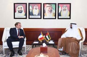 البواردي والسفير الفرنسي يبحثان التعاون المشترك