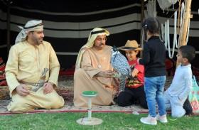 مشاركة مميزة لنادي تراث الإمارات  في الملتقى الأسري الثاني