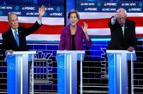 المرشحون الديمقراطيون يتحالفون ضد بلومبرغ