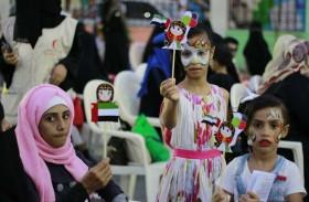« الهلال الأحمر » يكرم أطفال عدن في اليوم العالمي لمتلازمة داون