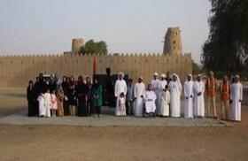 هيئة أبوظبي للسياحة والثقافة توزع 200 وجبة إفطار في قلعة الجاهلي بالعين