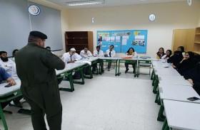 «دفاع مدني الظفرة» تنفذ حملات في المدارس لتعزيز اشتراطات السلامة