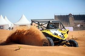 """""""الشارقة الرياضية الصحراوي"""" يتوّج أربعة دراجين عالميين في ختام منافسات دورته الثانية بالبداير"""