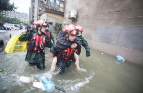 ارتفاع عدد ضحايا فيضانات وسط الصين إلى 99 قتيلا