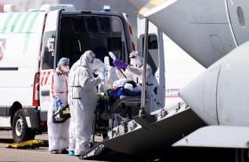 ارتفاع حالات الوفاة من كورونا بفرنسا