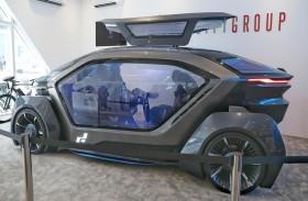 سيف ستي  تعرض سيارة كهربائية ذاتية القيادة في آيدكس 2019